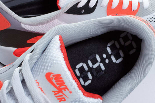 Nike Air Max 90 Hyperfuse Infrared Crooked Tongues BBQ 2011
