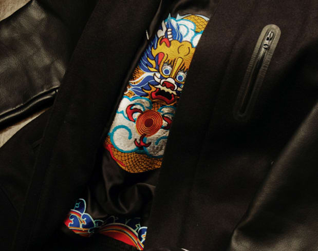 Nike Air Force 1 Low + Destroyer Jacket 'Year of the Dragon