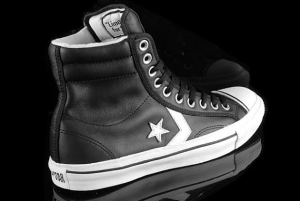 converse star player hi leather