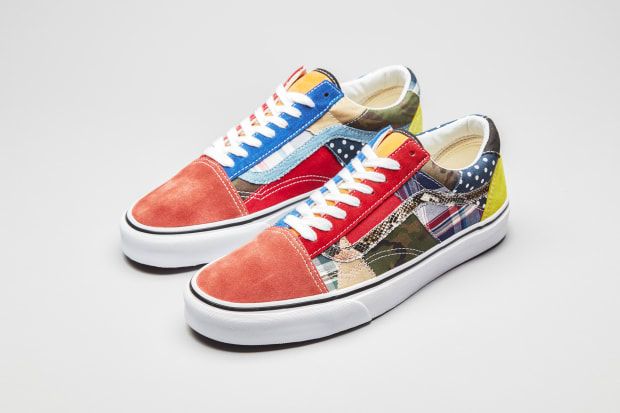 Vans and size? Team Up on the Patchwork Old Skool
