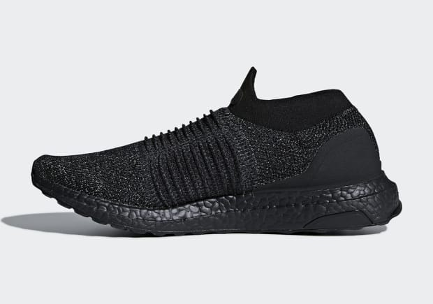 adidas Is Dropping the UltraBOOST Laceless in a Triple Black