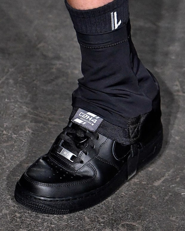 C2H4's AW19 Show Unveiled Modified Nike Air Force 1s
