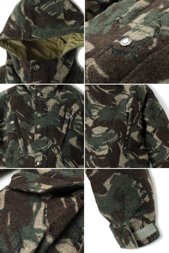The North Face Purple Label - Wool Mountain Parka + Pants ...