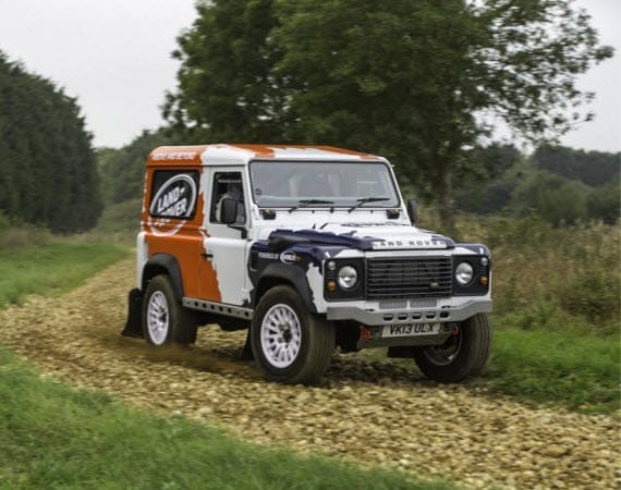 Land Rover Defender Rally Series