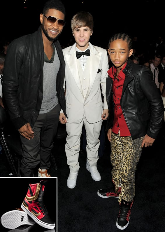 Fresh Celeb Supra Jaden Smith Skytop Ii For 53rd Grammy