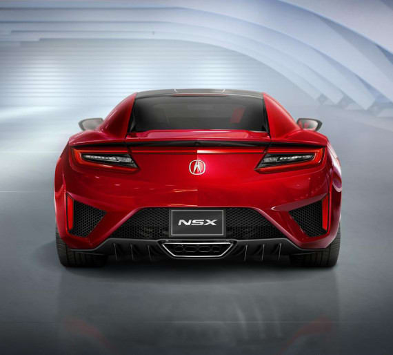 New Acura NSX Officially Unveiled