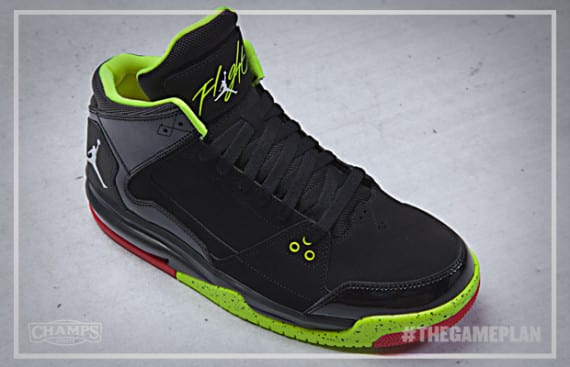 The Game Plan By Champs Sports Jordan Fire Red Volt