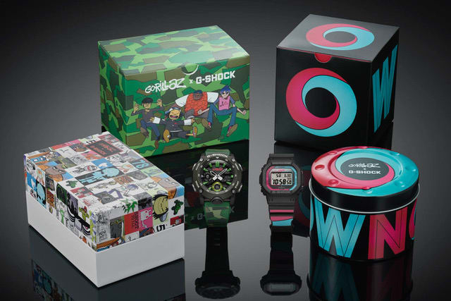 G-SHOCK and Gorillaz Reunite for Two New Watches