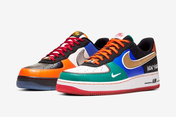 "Nike Air Force 1 Premium ""NYC: City of Athletes"" Release Info"
