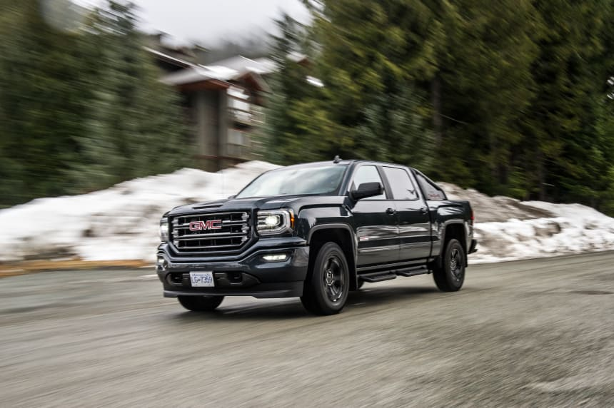 The 2017 Gmc Sierra All Terrain X Pushes The Limits On The