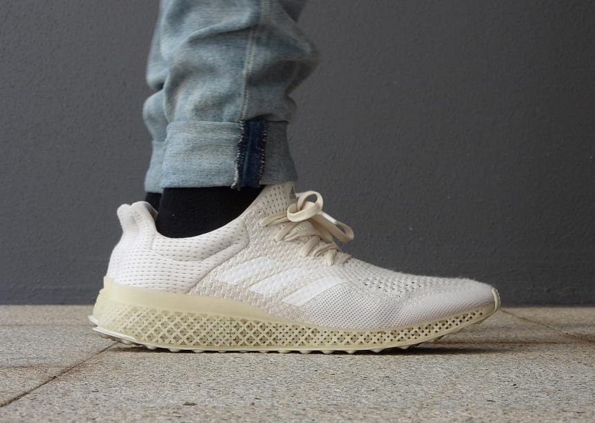 Here's an On-Foot Look at the 3D-Printed adidas Futurecraft