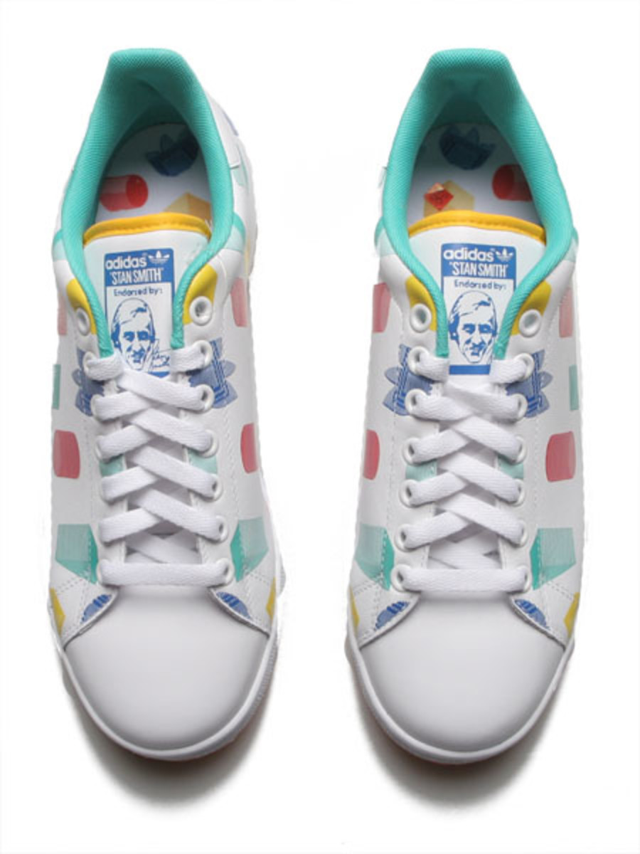 adidas Originals - Easter Gazelle + Graph Stan Smith - 8