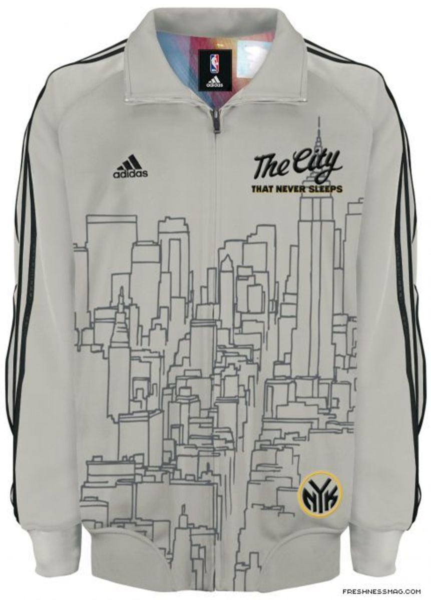 Adidas - NBA Home Cooked Collection - New York - 0