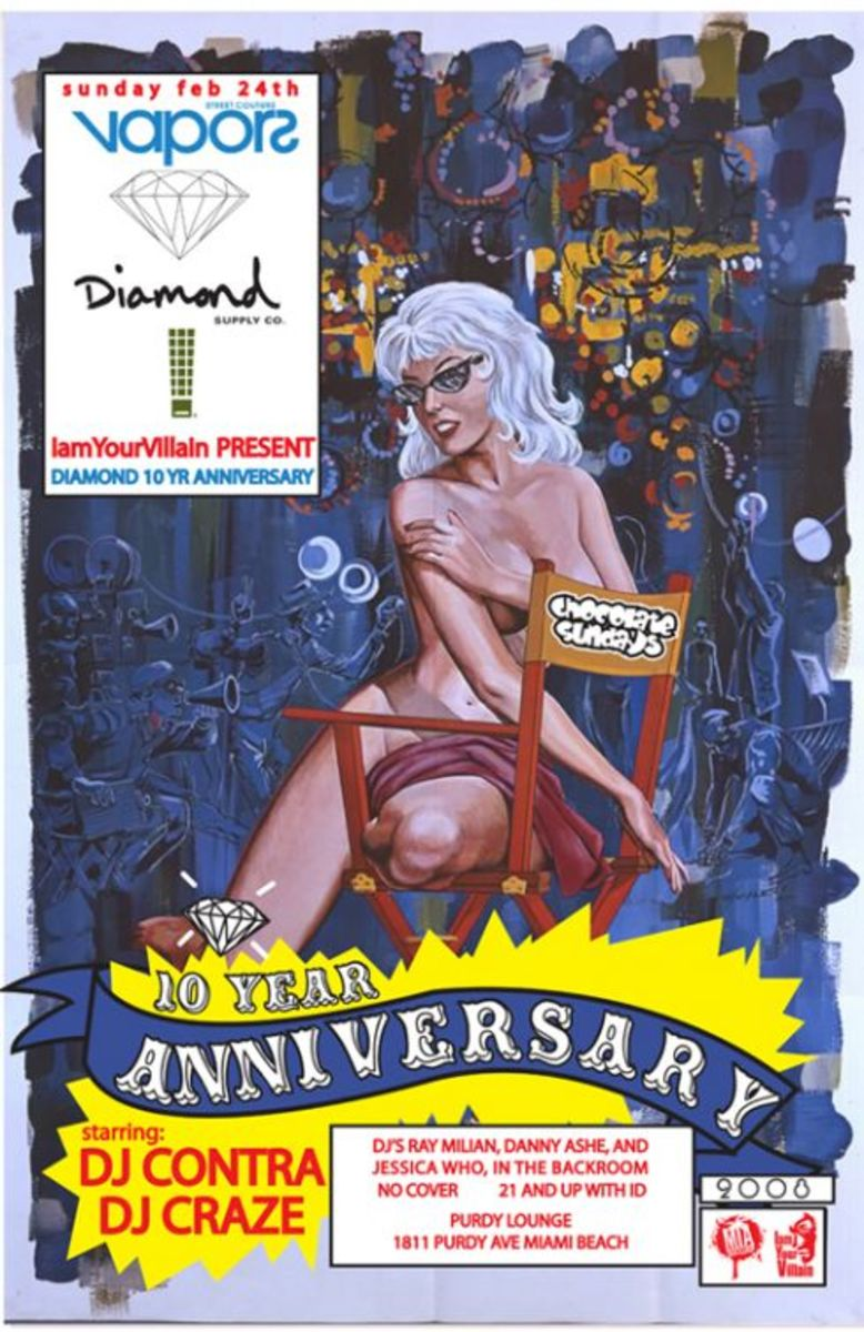 Diamond Supply Co. - 10 Year Anniversary Party - 0