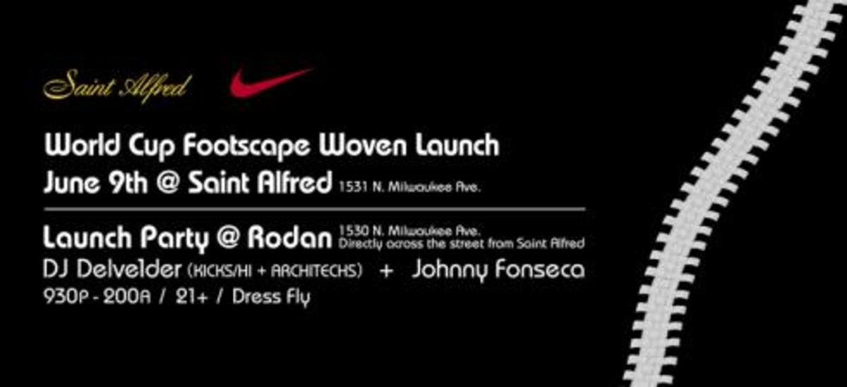 Nike World Cup Footscape Woven Launch