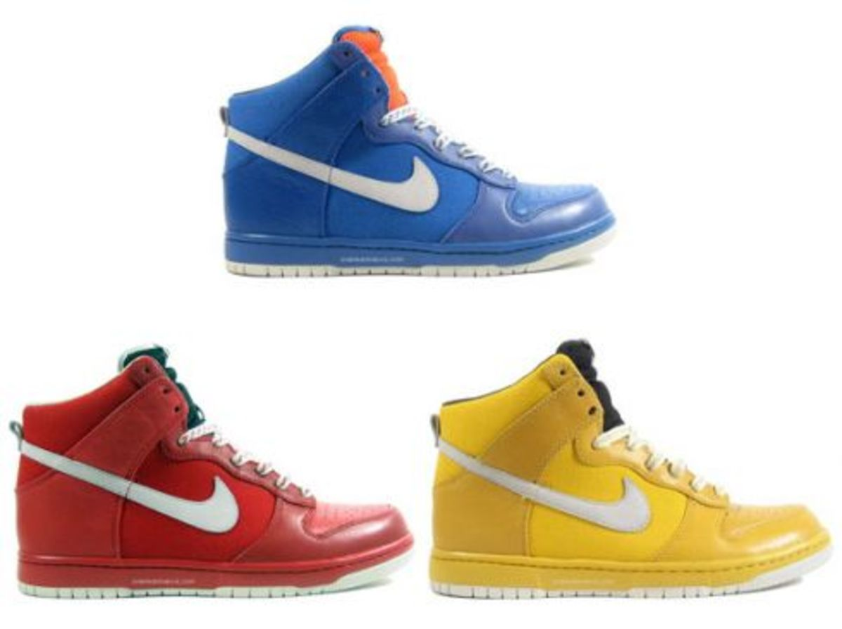 Nike Dunk High Be True in Solid Colors Freshness Mag