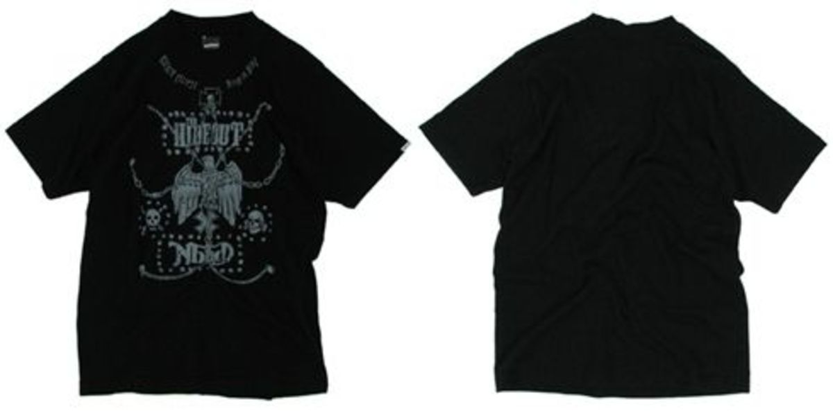 The Hideout 10th Anniversary - Neighborhood x The Hideout Death or Glory T-Shirt