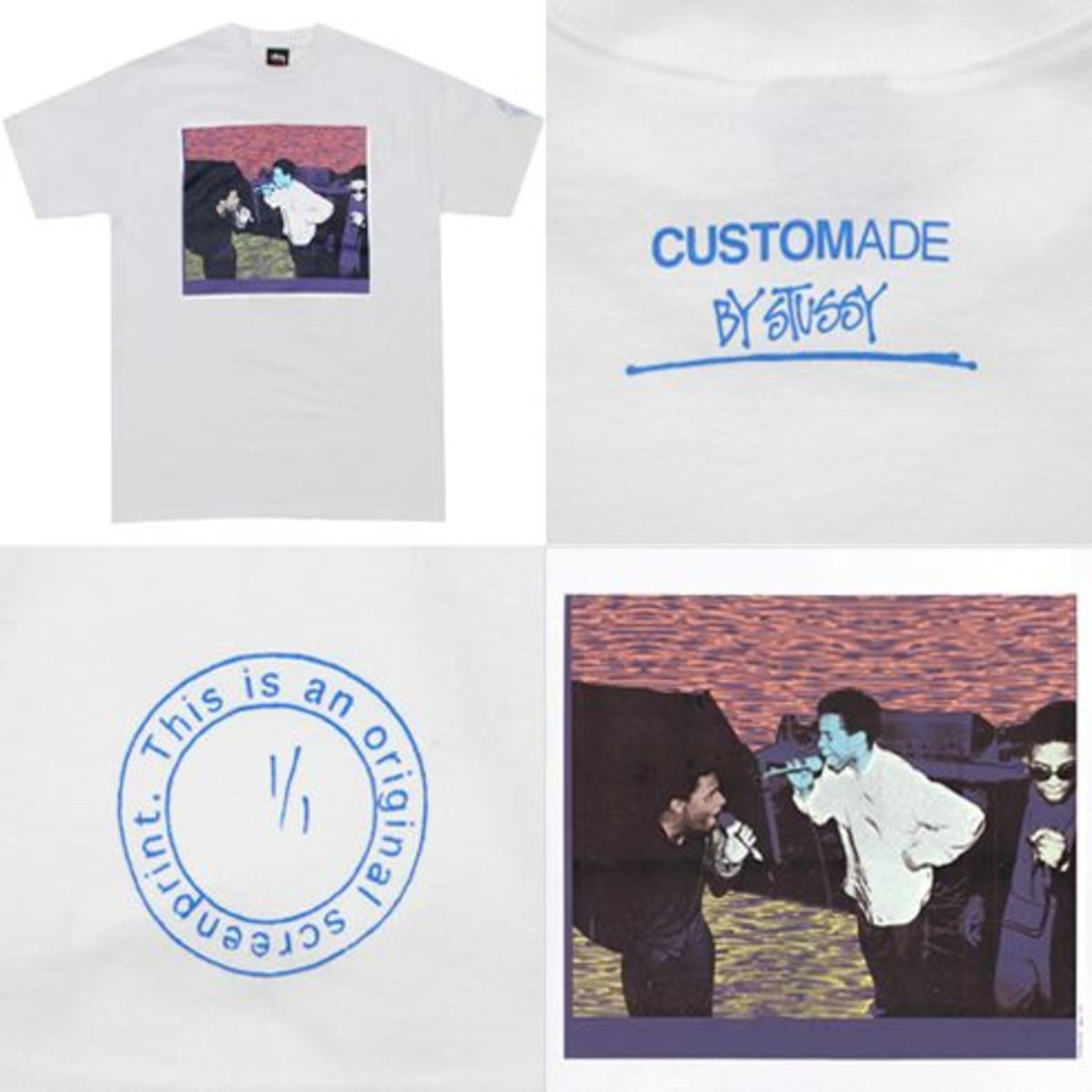 Stussy Direct - Stussy x Kate Gibb -  Customade Series - 3 MC's