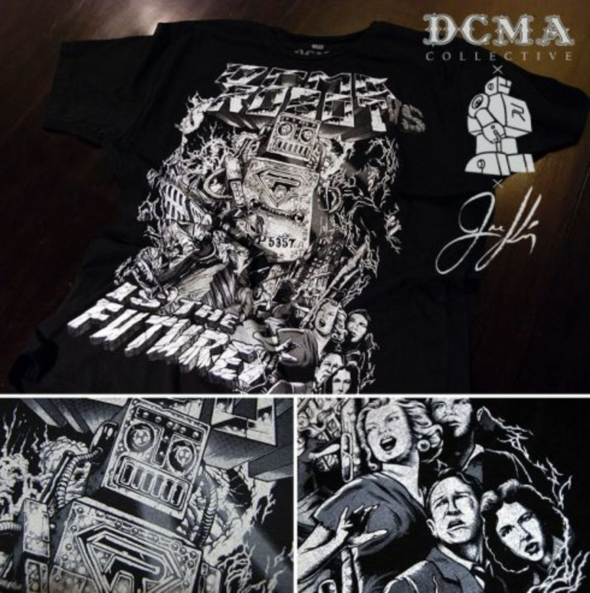 DCMA Collective x Robot is the Future x Joe King