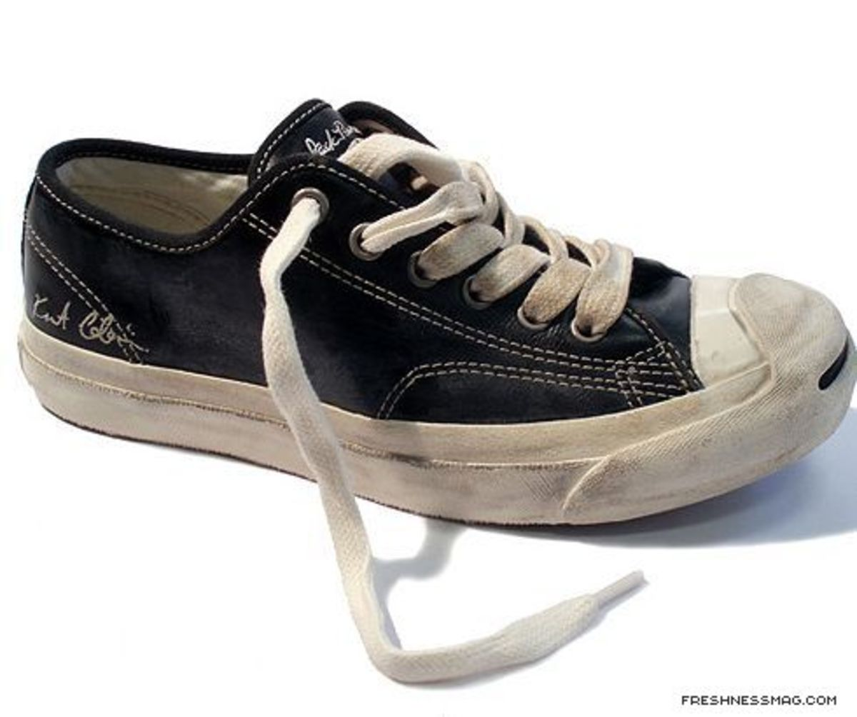 Converse - Kurt Cobain Collection - Jack Purcell Signature Distressed Edition