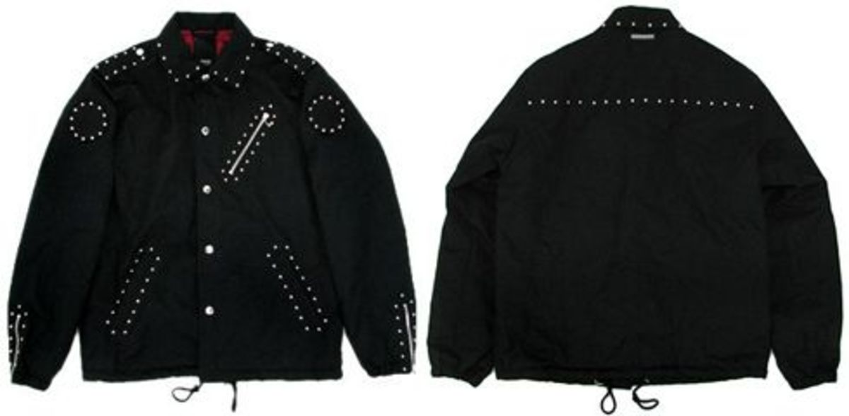 The Hideout 10th Anniversary - Neighborhood x The Hideout Studs Coach Jacket