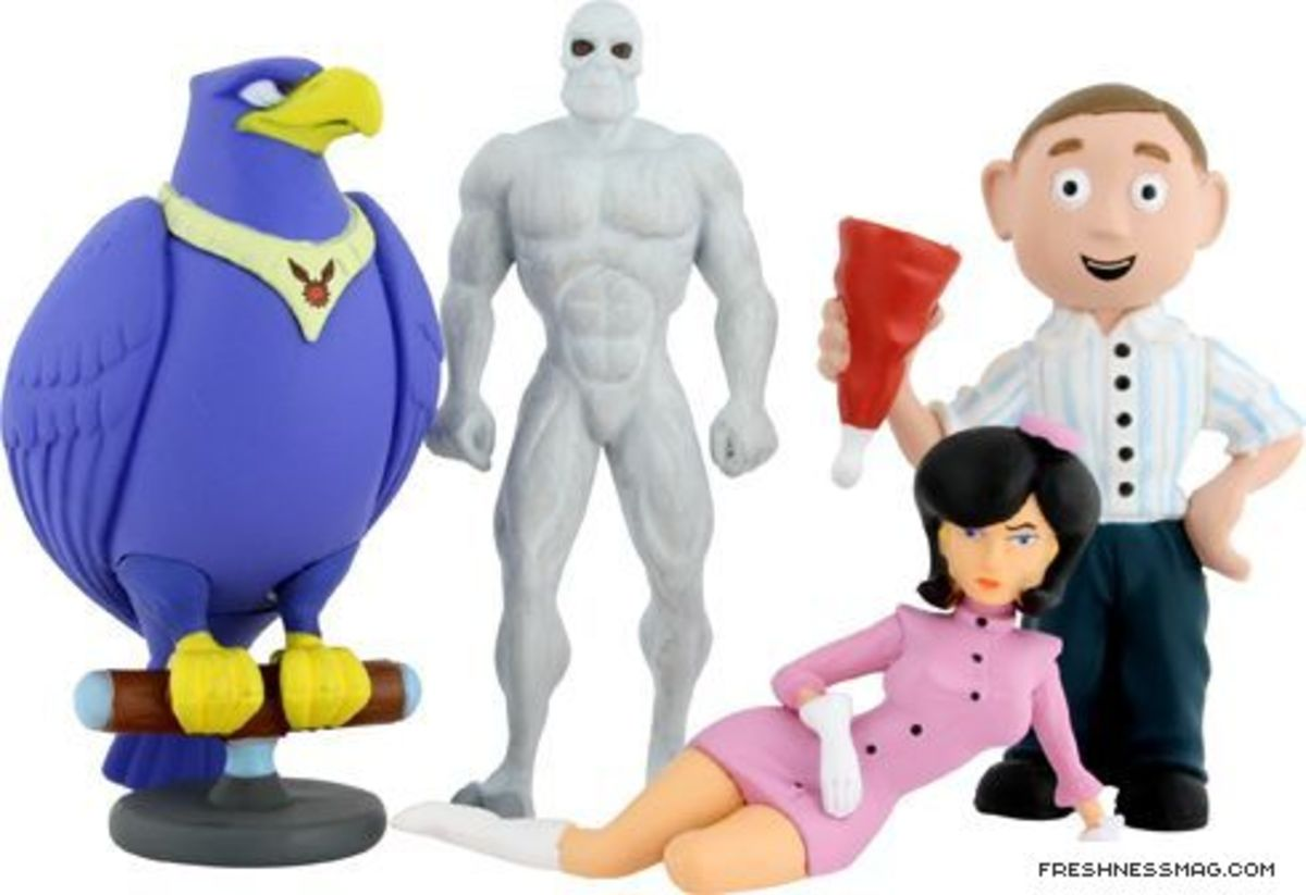 Kidrobot x Cartoon Network - Adult Swim Figures