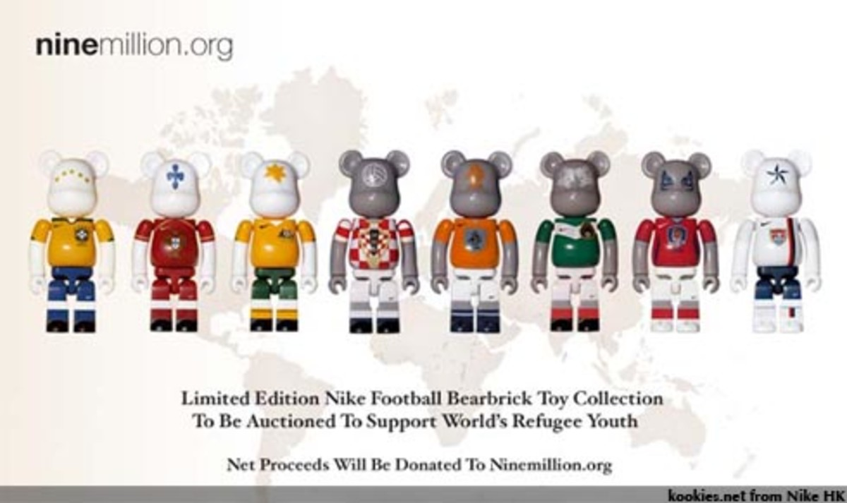 World Cup BE@RBRICKs for auction!!!! - 0