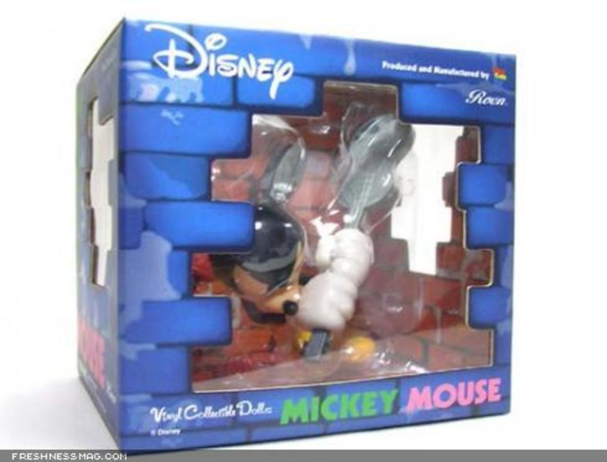 ROEN x MEDICOM TOY x Disney - CLASH Mickey Mouse - 5