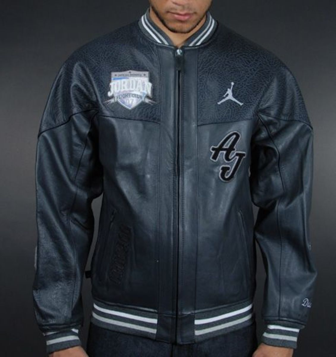 8389a942257754 Air Jordan MJ Air Leather Jacket - Freshness Mag