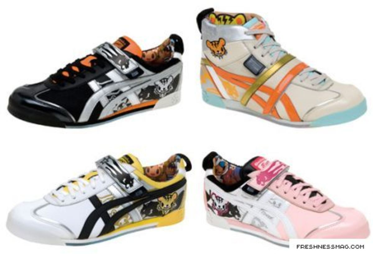another chance 59e4f 28fcc Onitsuka Tiger x tokidoki Sneaker Collection - Freshness Mag