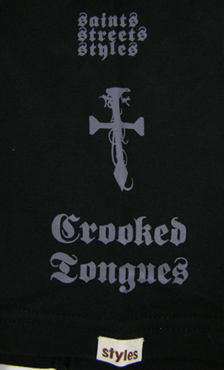Crooked Tongues x styles - T-Shirt