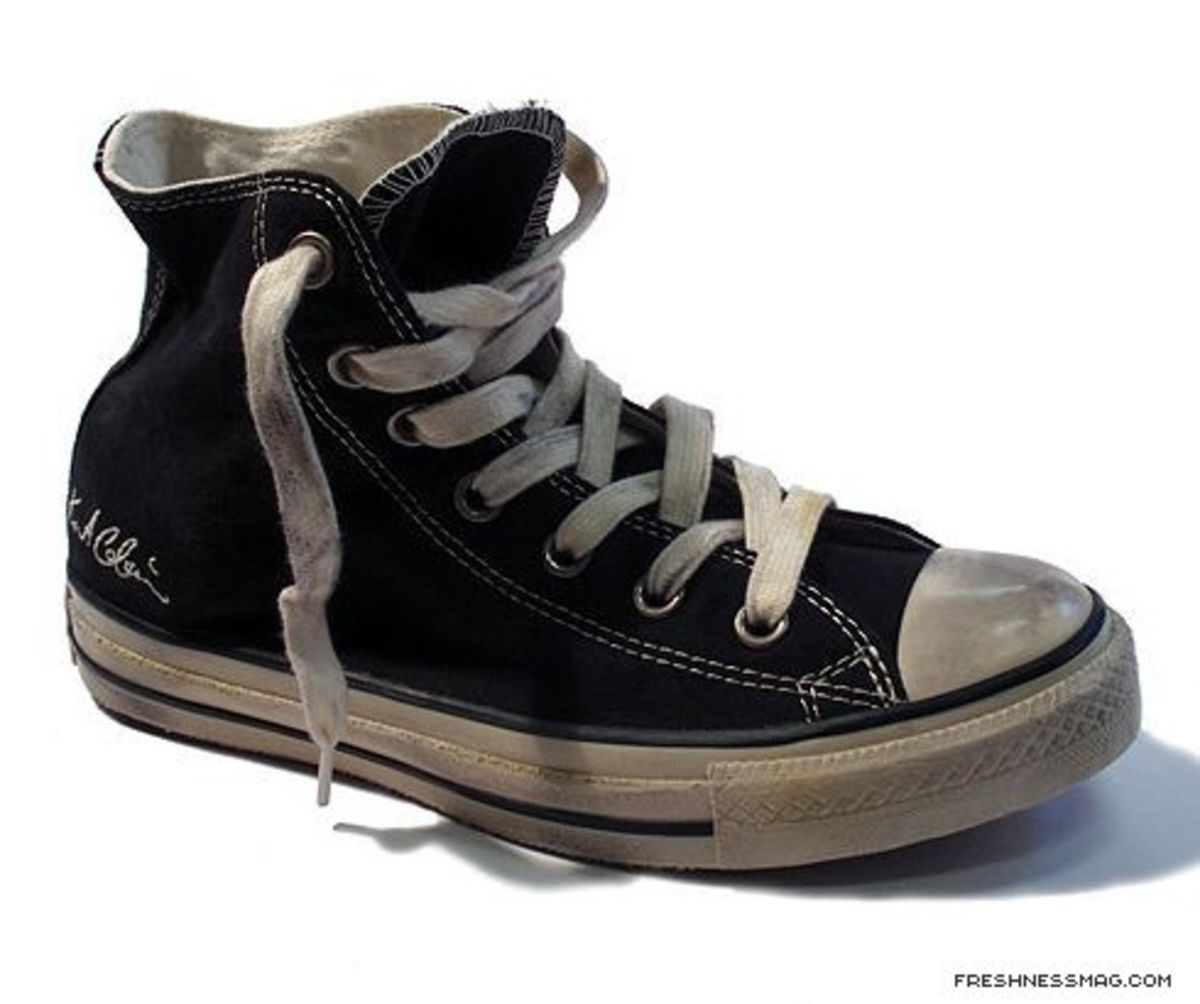 Converse - Kurt Cobain Collection - Chuck Taylor All Star Signature Distressed Edition