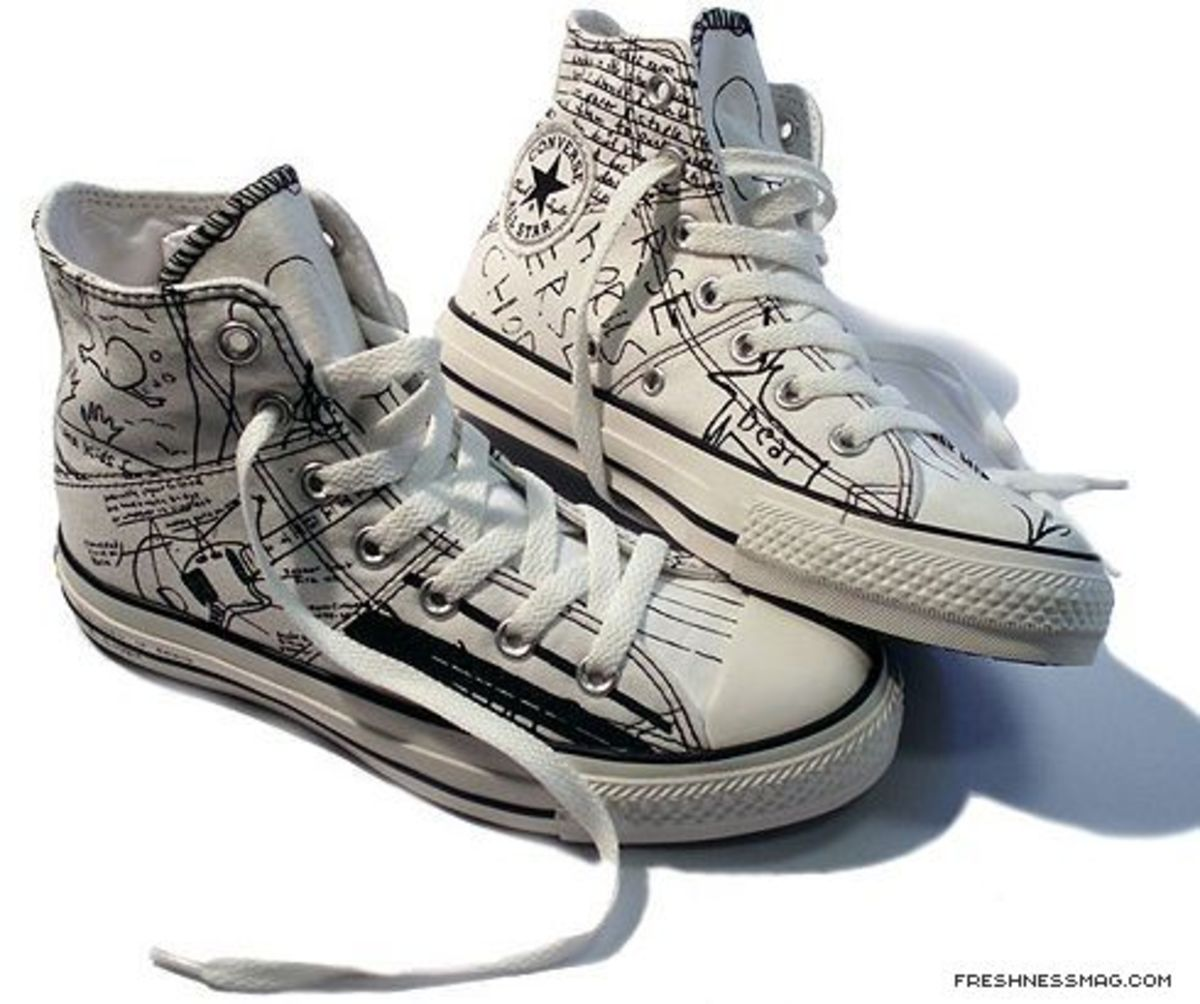 Converse - Kurt Cobain Collection - Chuck Taylor All Star Lyric Edition (White)