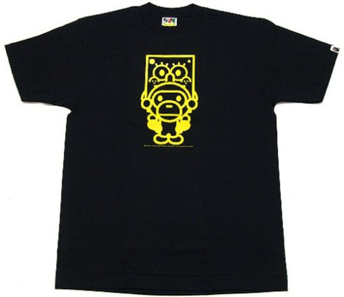 A Bathing Ape (BAPE)  x SpongeBob - Baby Milo Sitting T-Shirt