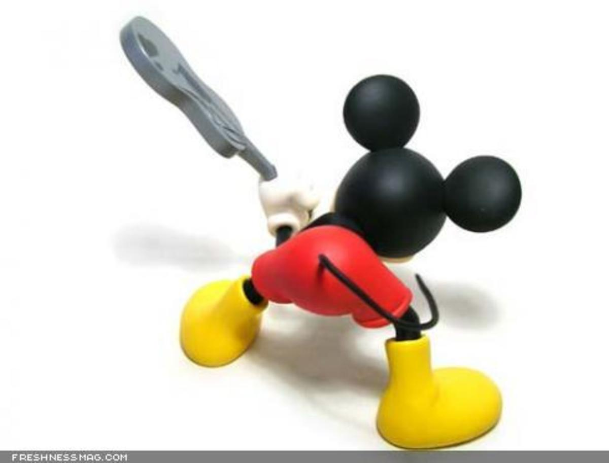 ROEN x MEDICOM TOY x Disney - CLASH Mickey Mouse - 2