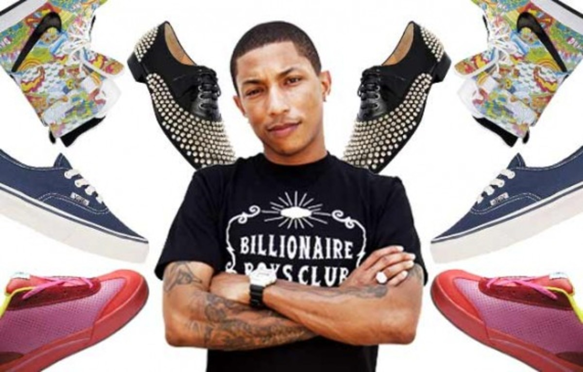 Complex   Pharrell Williams Greatest Sneaker Moments