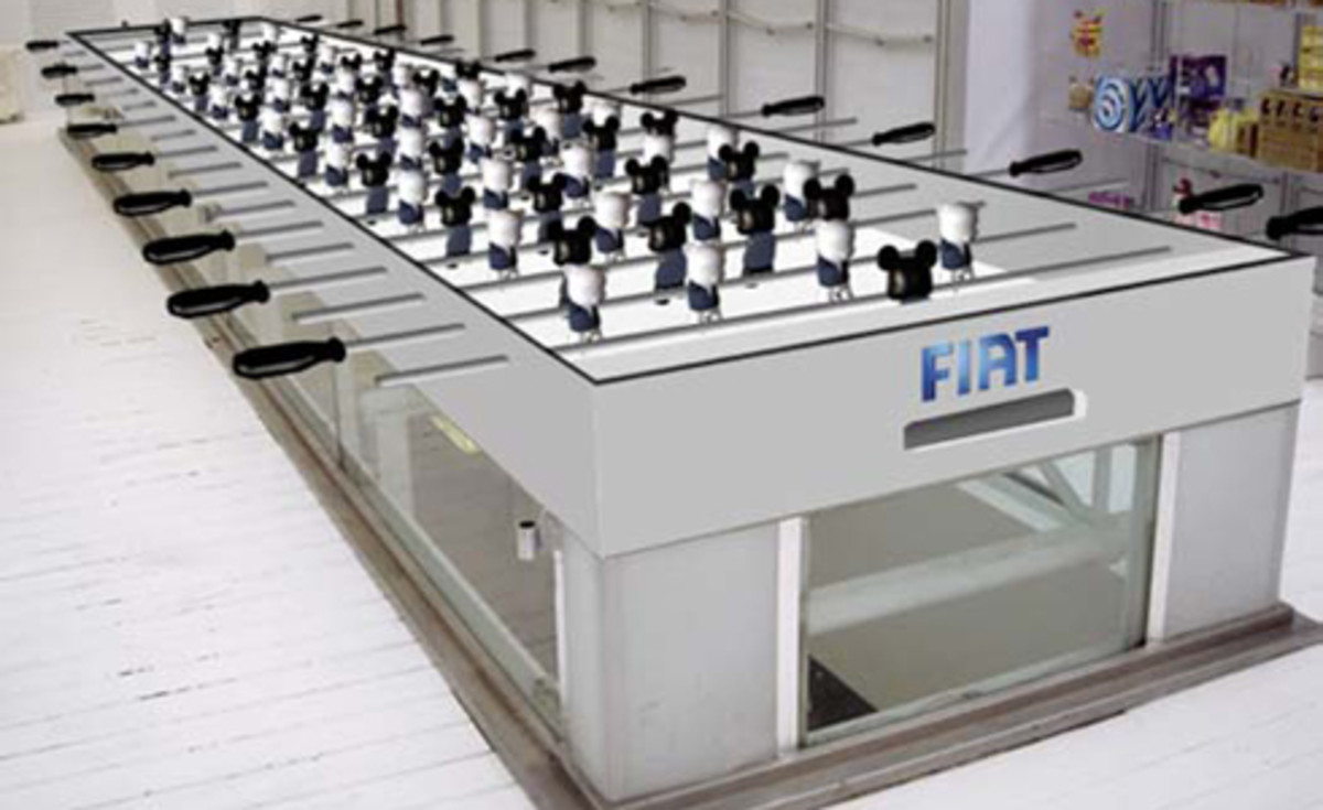 Toy2R x FIAT - World's Longest Foosball Table - 0