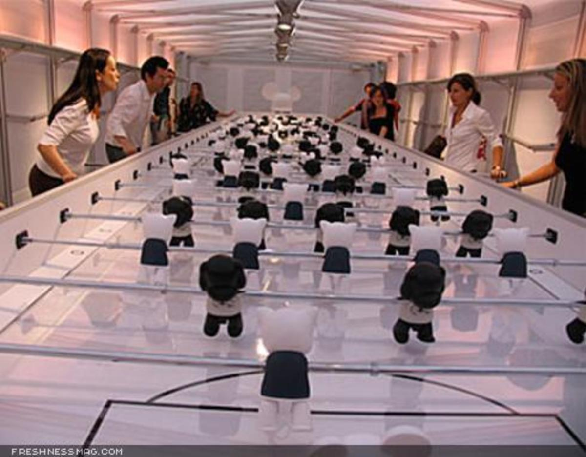 Toy2R x FIAT - World's Longest Foosball Table - 8