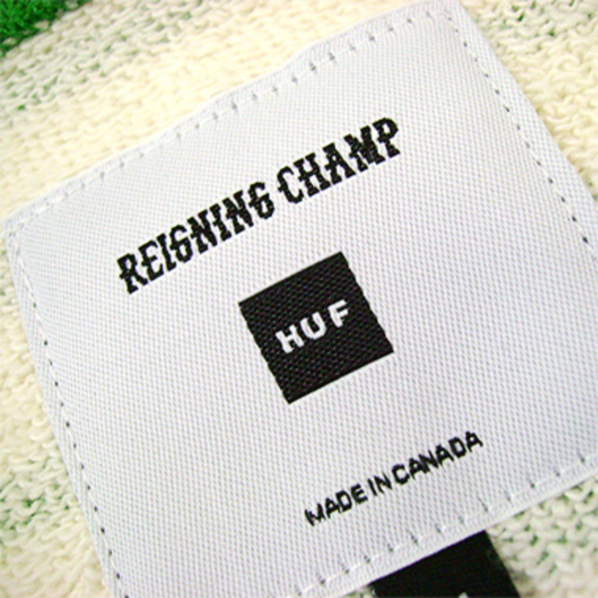 Reigning Champ x HUF - Sweat Henley - 3