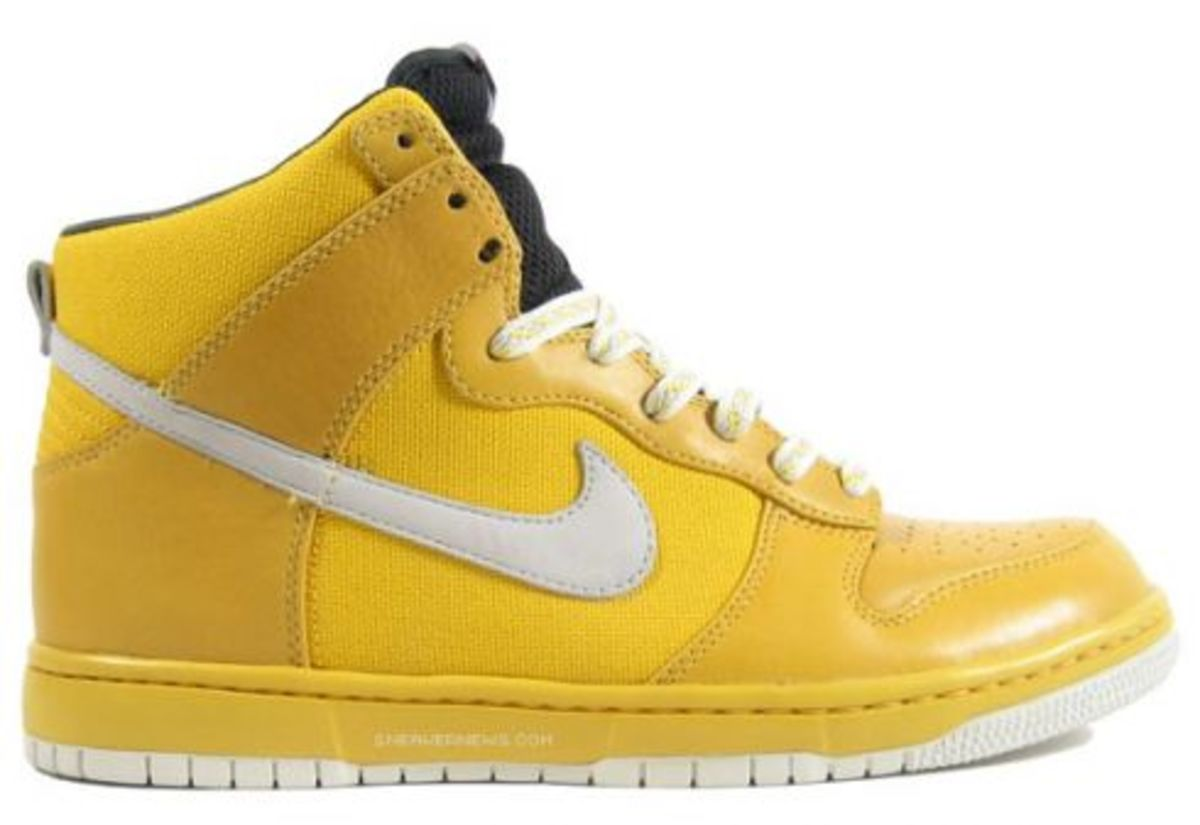 Nike Dunk High Be True in Solid Colors - 1