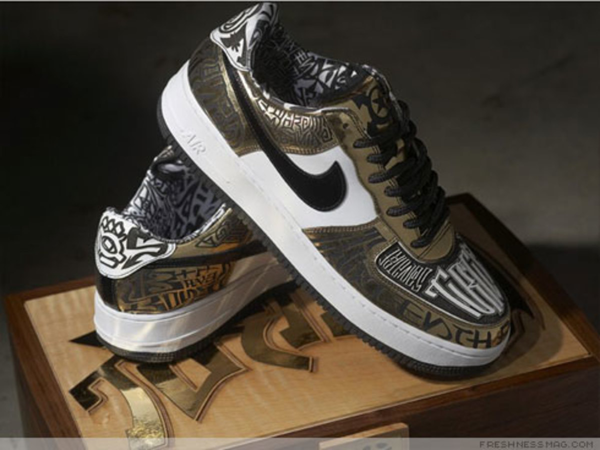 Nike x UNDFTD x Entourage - Turtle Air Force 1 - 5