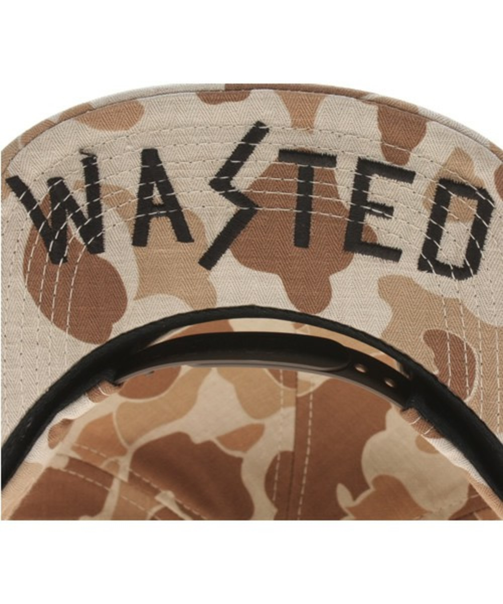 Wasted Military Cap Brown 2
