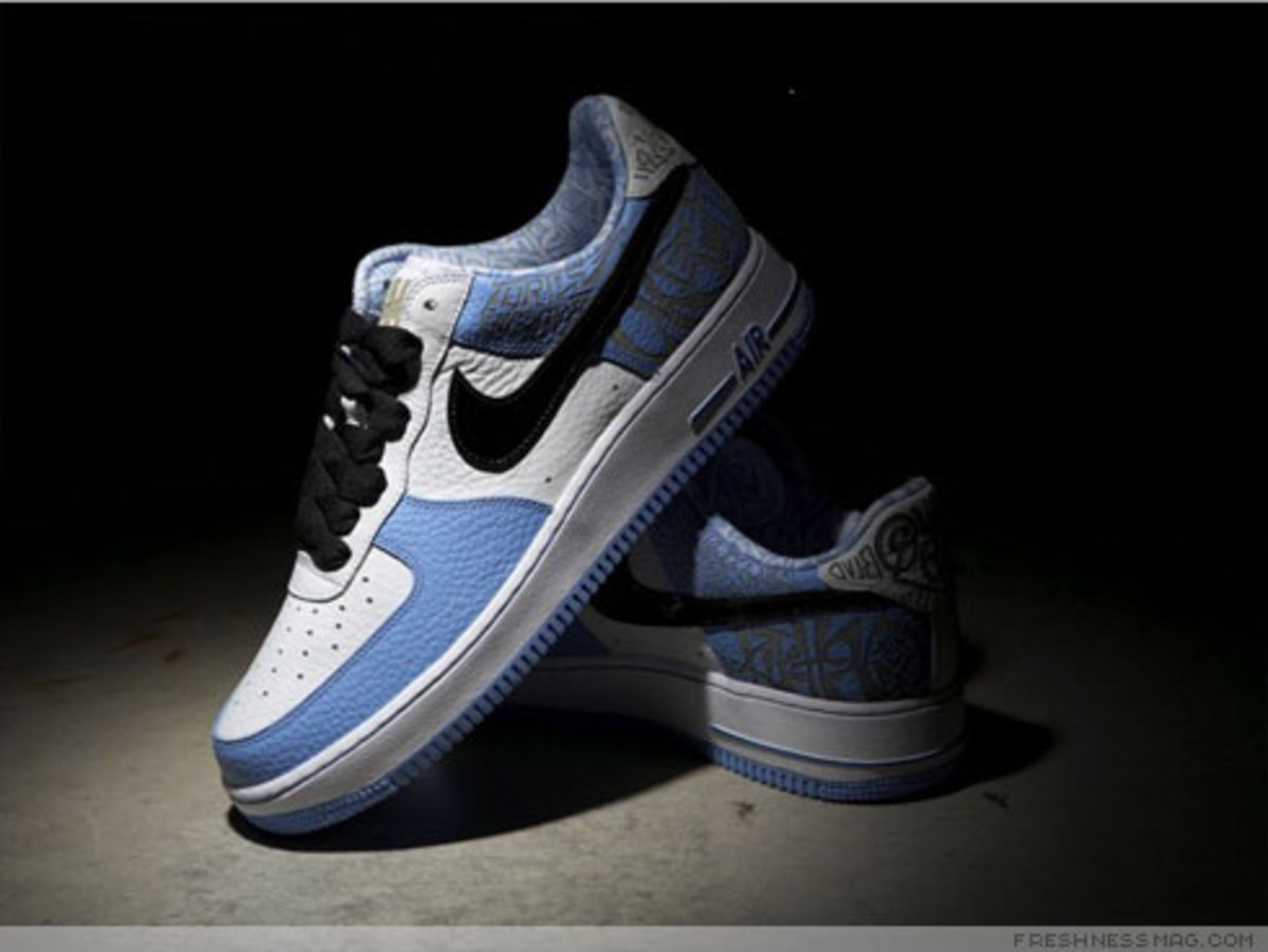 Nike x UNDFTD x Entourage - Turtle Air Force 1 - 19