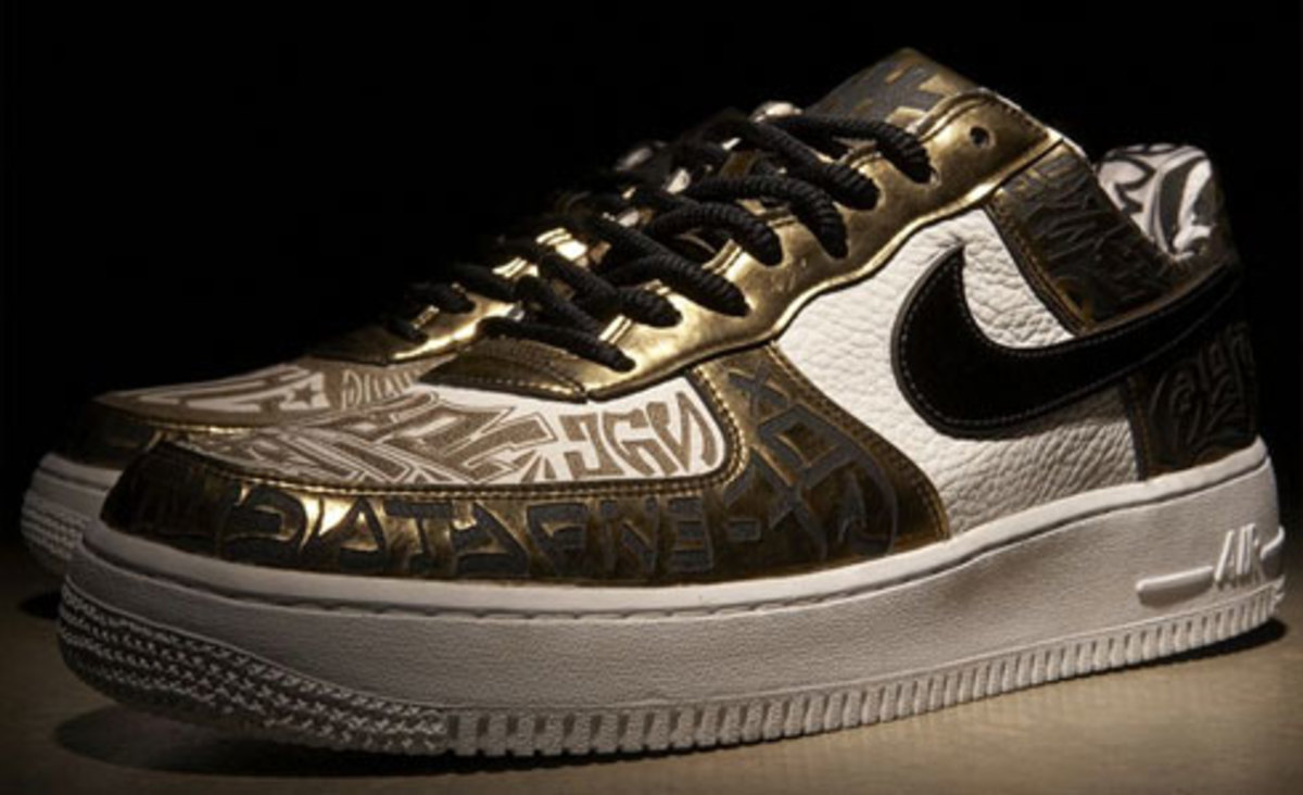 Nike x UNDFTD x Entourage - Turtle Air Force 1 - 0