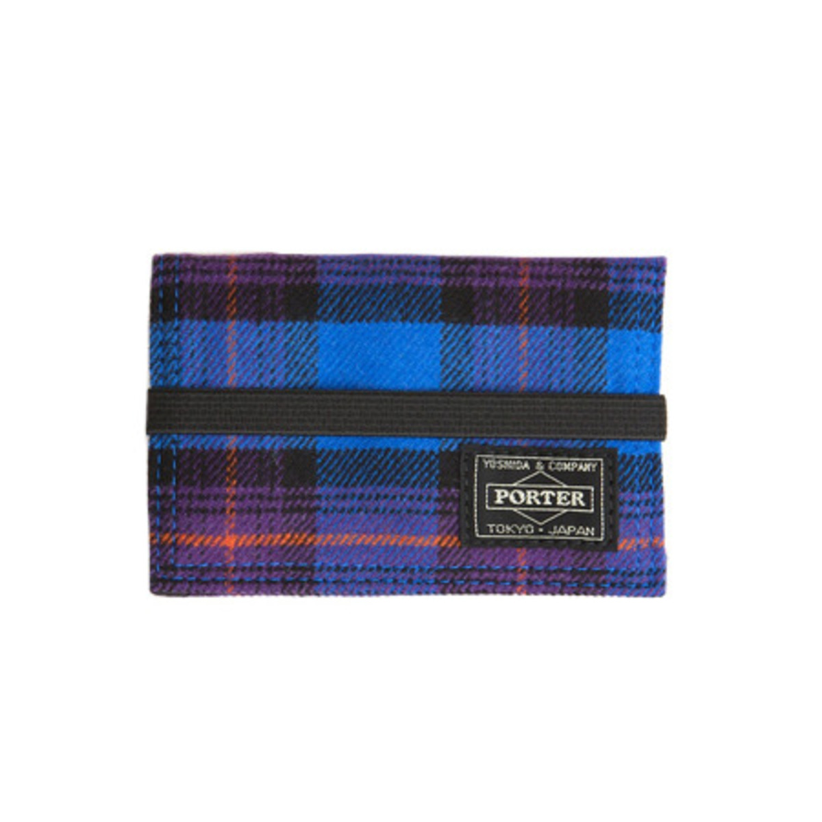 Band Card Case Blue