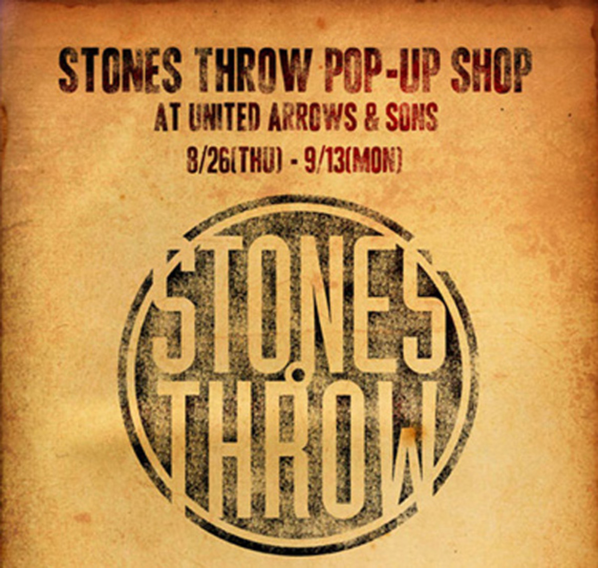 Stones Throw Pop Up Shop 1