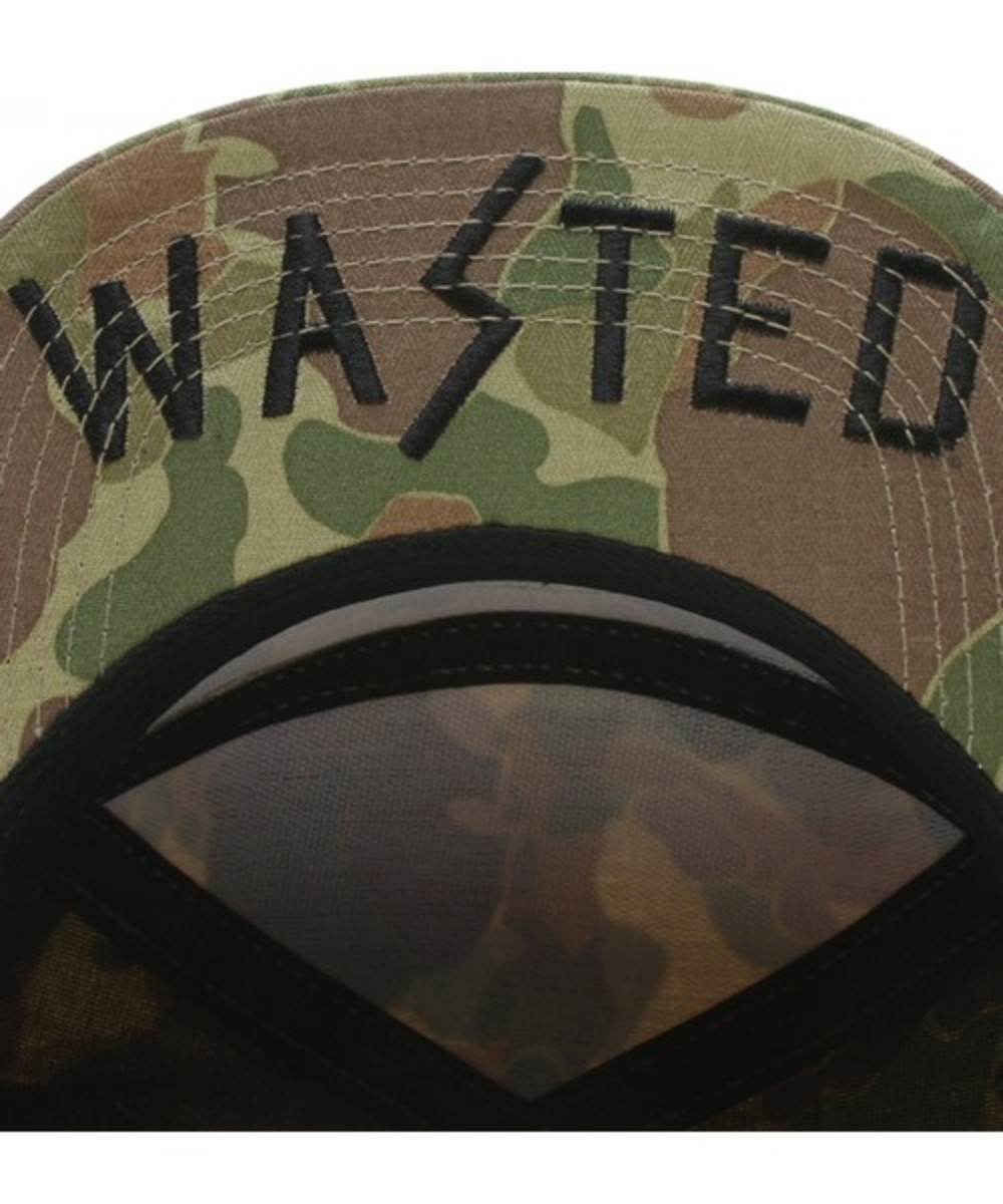 Wasted Military Cap Green 5