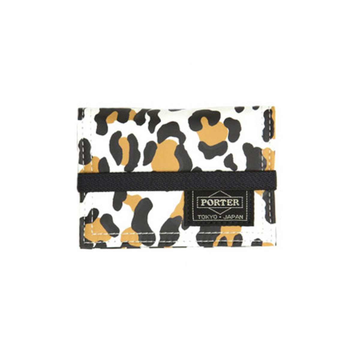 Snow Leopard Band Card Case