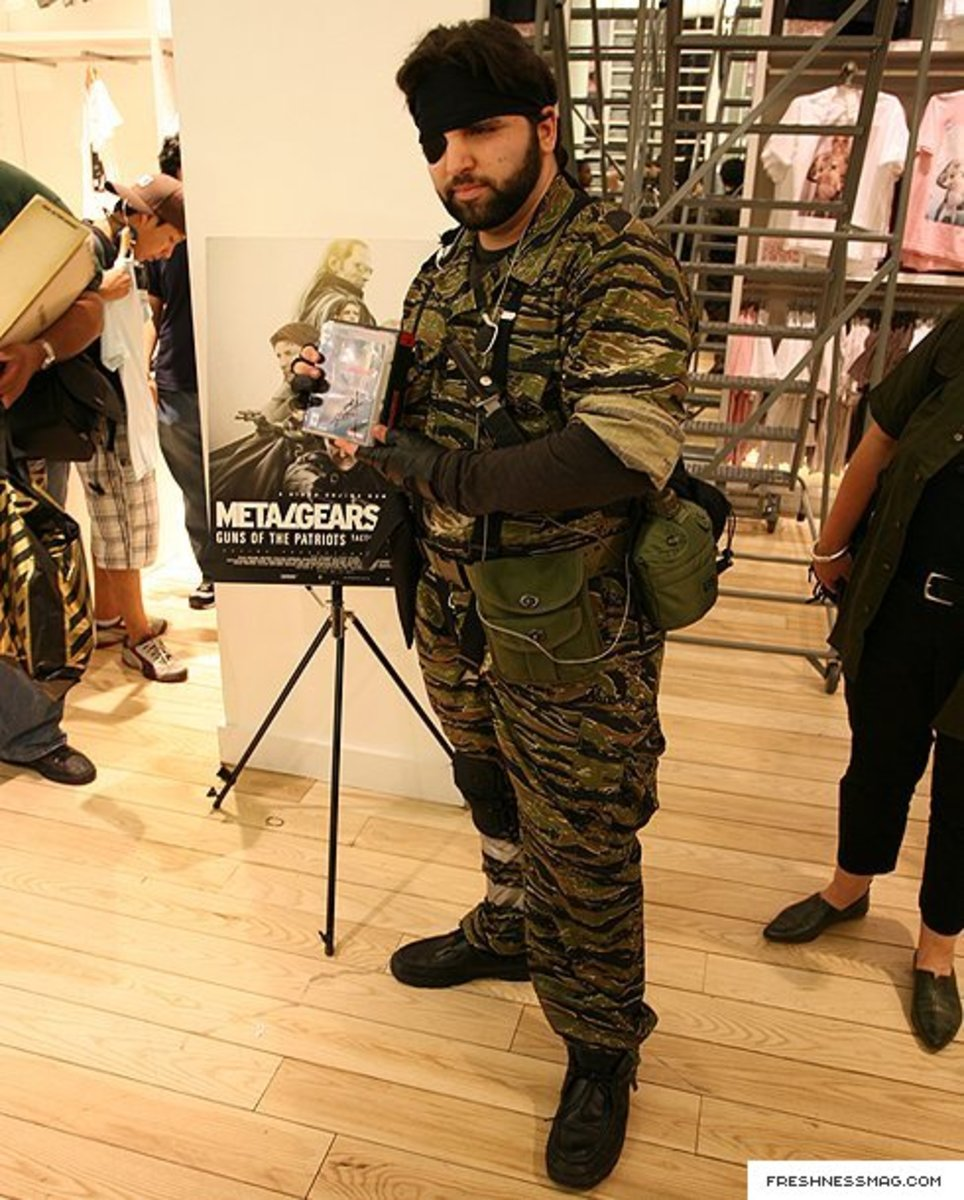 UNIQLO x Metal Gear Solid 4 - Launch Event