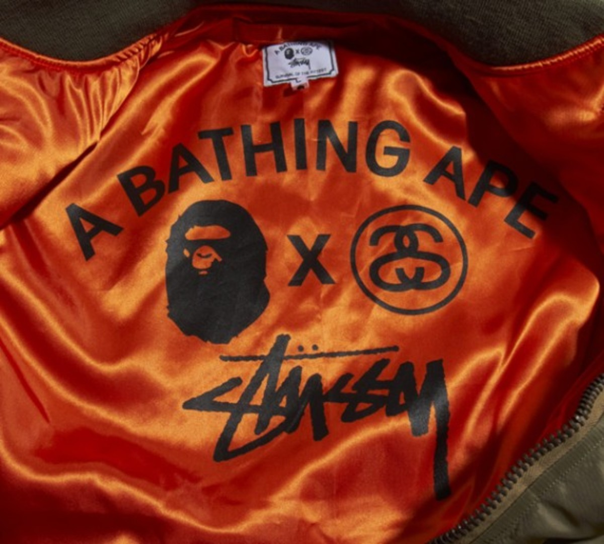 A Bathing Ape x Stussy  Survival Of The Fittest | Delivery 2